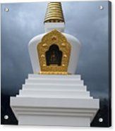 Stupa Of Enlightenment 1 Acrylic Print by Joseph R Luciano