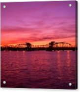 Sturgeon Bay Sunset Acrylic Print
