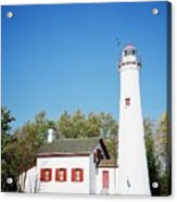 Sturgeon Point Lighthouse, Michigan - Horizontal Acrylic Print