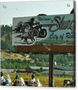 Sturgis City Of Riders Acrylic Print