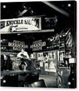 Sturgis Saloon Acrylic Print