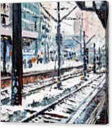 Stuttgart Main Station Acrylic Print