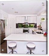 Stylish Modern Kitchen Acrylic Print