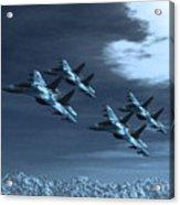 Su-35 Russia Acrylic Print