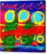 Sub Aqua IIi - Triptych Acrylic Print