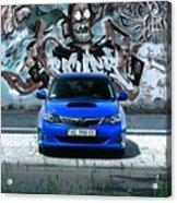 Subaru Acrylic Print