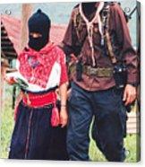 Subcommandante Marcos And Ramona Acrylic Print
