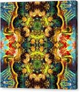 Subconscious Sacred Scrolls Acrylic Print