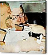 Sublime Acrylic Print by Regina Arnold