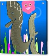 Submerged World Acrylic Print
