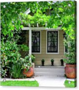 Suburban House Hayward California 17 Acrylic Print