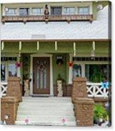 Suburban Arts And Crafts Style House Hayward California 15 Acrylic Print