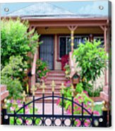 Suburban House Hayward California 38 Acrylic Print