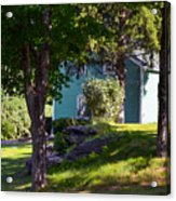 Suburban House Acrylic Print
