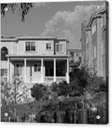 Suburban House On Hayward Boulevard Hayward California 2 Acrylic Print