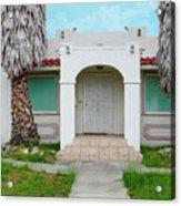 Suburban Surveillance House On Montgomery Avenue Hayward California 6 Acrylic Print