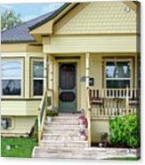Suburban Victorian Cottage House Hayward California 37 Acrylic Print