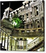 Subway City Hall Acrylic Print