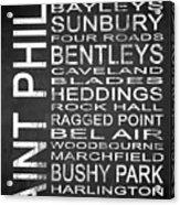 Subway Saint Philip Barbados 1 Acrylic Print