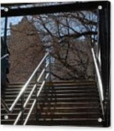 Subway Stairs Acrylic Print