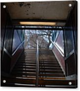 Subway Stairs To Freedom Acrylic Print