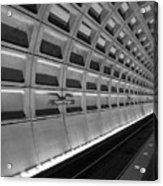 Subway Station Acrylic Print