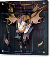Successful Hunter  Door Art Acrylic Print