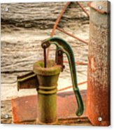 Suction Water Pump Acrylic Print