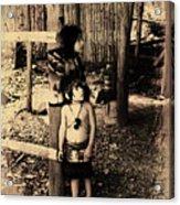 Sucua Kids 895 Acrylic Print