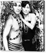 Sucua Shaman And Spouse Acrylic Print
