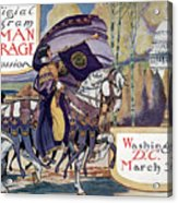 Suffragette Parade, 1913 Acrylic Print