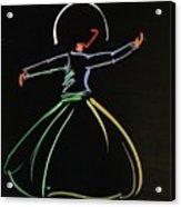 Sufi Acrylic Print