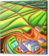Sugar Mill Acrylic Print