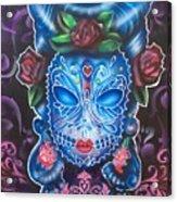 Sugar Skull Acrylic Print