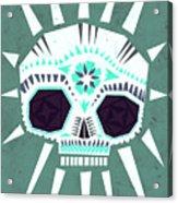 Sugar Skull IIi Acrylic Print