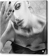 Sugared Skin 2 - Self Portrait Acrylic Print