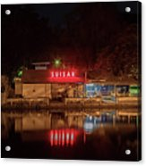 Suisan Fish Market At Night Acrylic Print