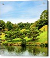 Suizenji Lake Acrylic Print
