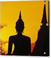 Sukhothai Temple Acrylic Print