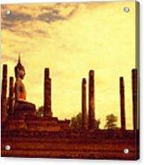 Sukothai Temple Acrylic Print
