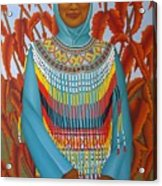 Sulawesi Girl Acrylic Print