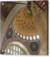 Suleymaniye Arches And Domes Acrylic Print