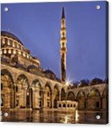 Suleymaniye Mosque Acrylic Print