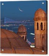 Suleymaniye Acrylic Print