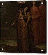 Sultan Ahmed IIi, Jean Baptiste Vanmour, C. 1727 - C. 1730 Acrylic Print