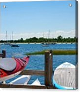 Summer Afternoon Boating Acrylic Print