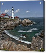 Summer Afternoon, Portland Headlight Acrylic Print