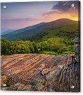 Summer Along The Appalachian Trail Acrylic Print