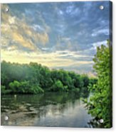 Summer Along The West Fork Acrylic Print