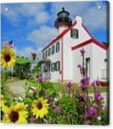 Summer At East Point Light Acrylic Print